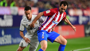 Diego Godin Lucas Vazquez Atletico Madrid Real Madrid La Liga