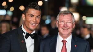 Cristiano Ronaldo Sir Alex Ferguson movie premiere