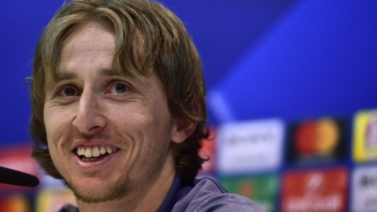 Luka Modric Real Madrid press conference