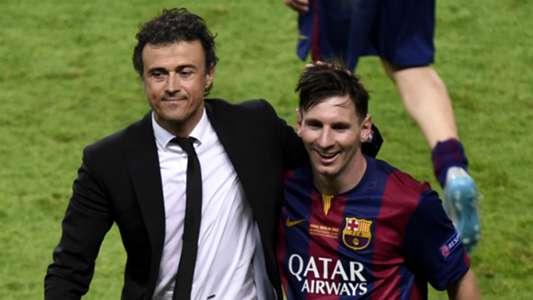 Luis Enrique Messi Barcelona