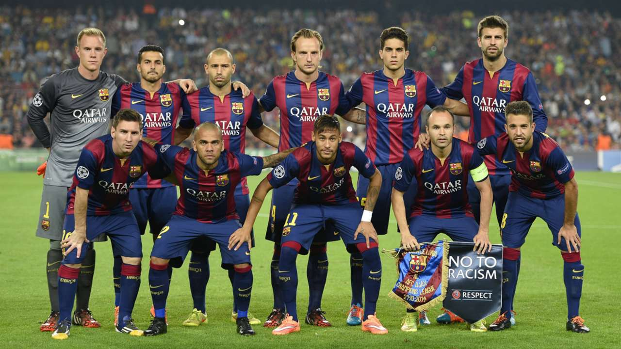 Barcelona Ajax UEFA Champions League 10212014