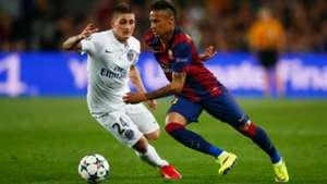Marco Verratti Neymar Barcelona PSG Champions League 04212015