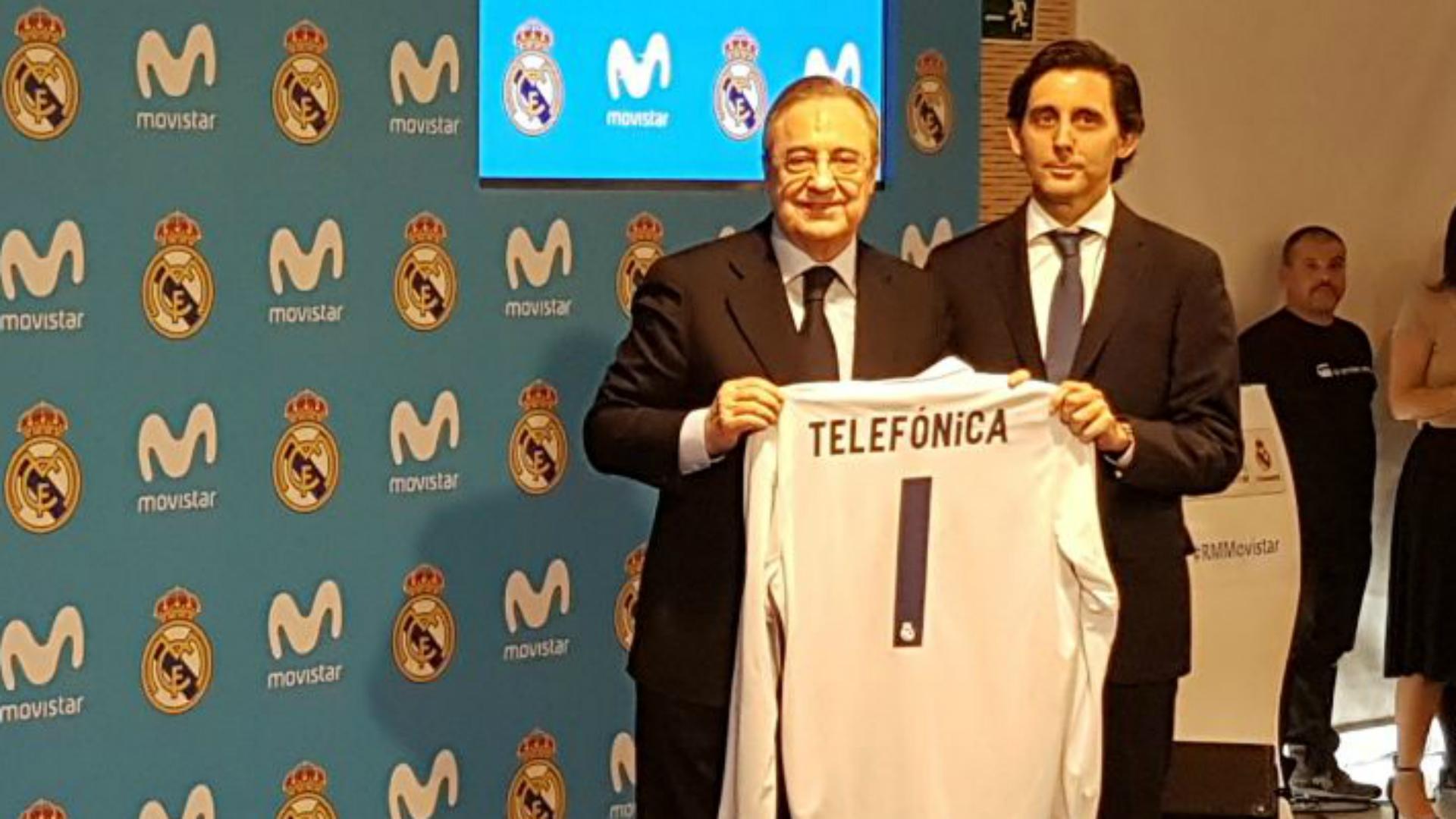 Florentino Perez Real Madrid telefonica