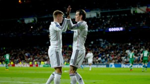 Toni Kroos Gareth Bale Real Madrid Ludogorets UEFA Champions League 12092014