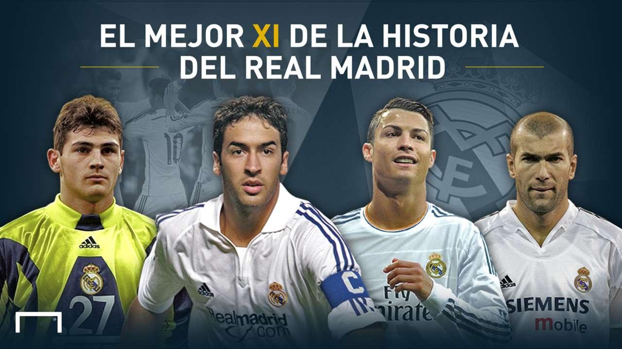 XI Ideal en la historia del Real Madrid