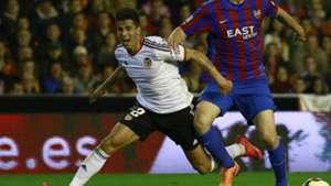 Joao Cancelo Valencia Levante La Liga 13042015