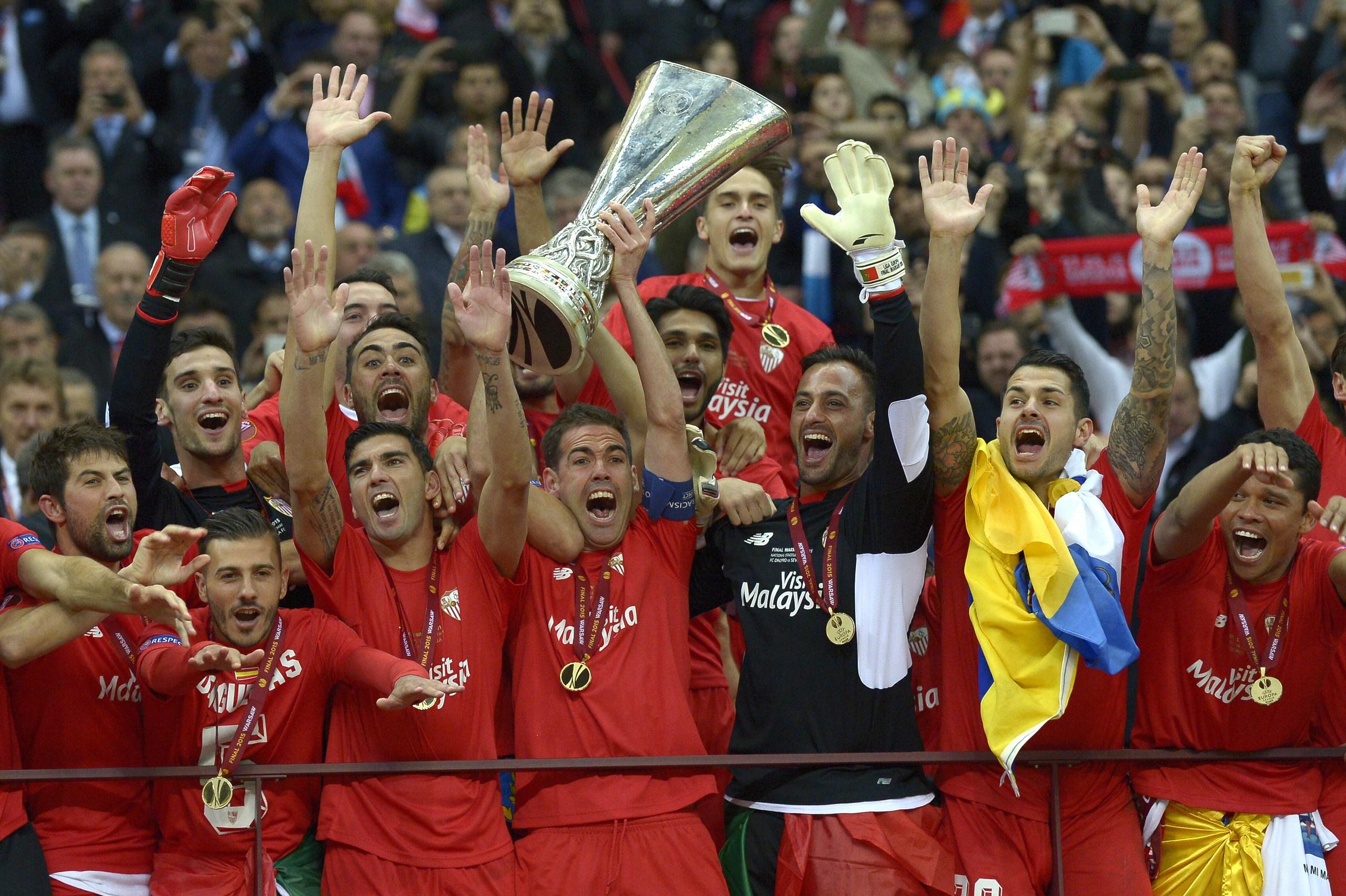 Sevilla Europa League Champions 2015