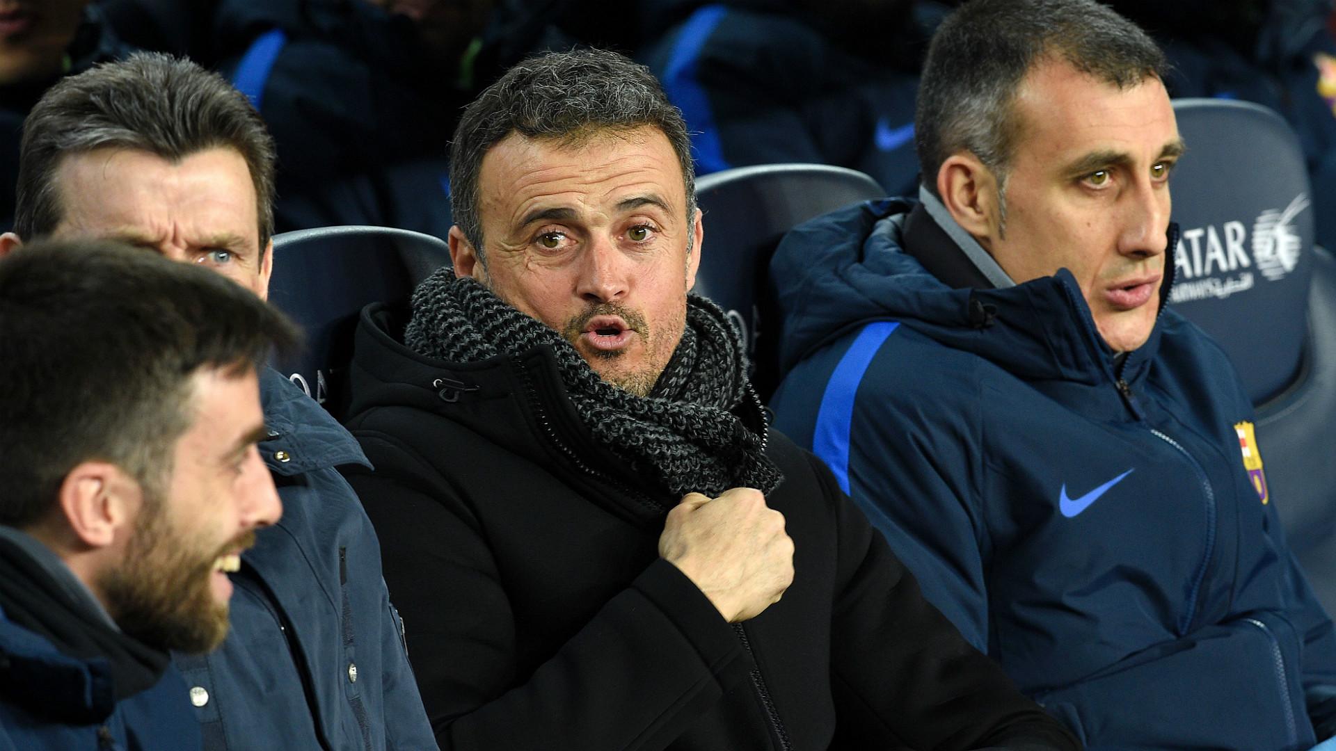 Luis Enrique Barcelona Real Sociedad Copa del Rey 26012017