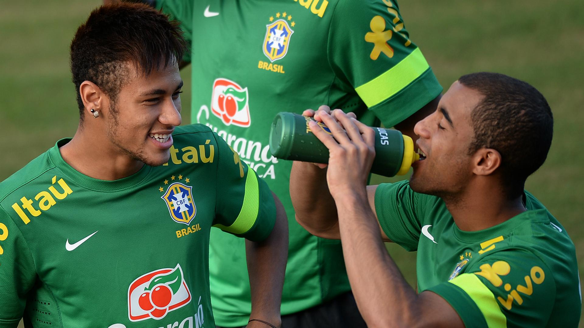 Neymar Lucas Moura Brazil