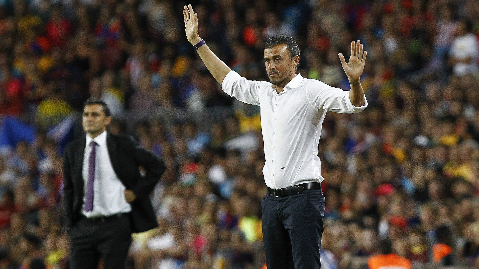 Luis Enrique Valverde Barcelona Athletic Bilbao Supercopa 17082015