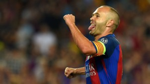 Andres Iniesta Barcelona Celtic Champions League