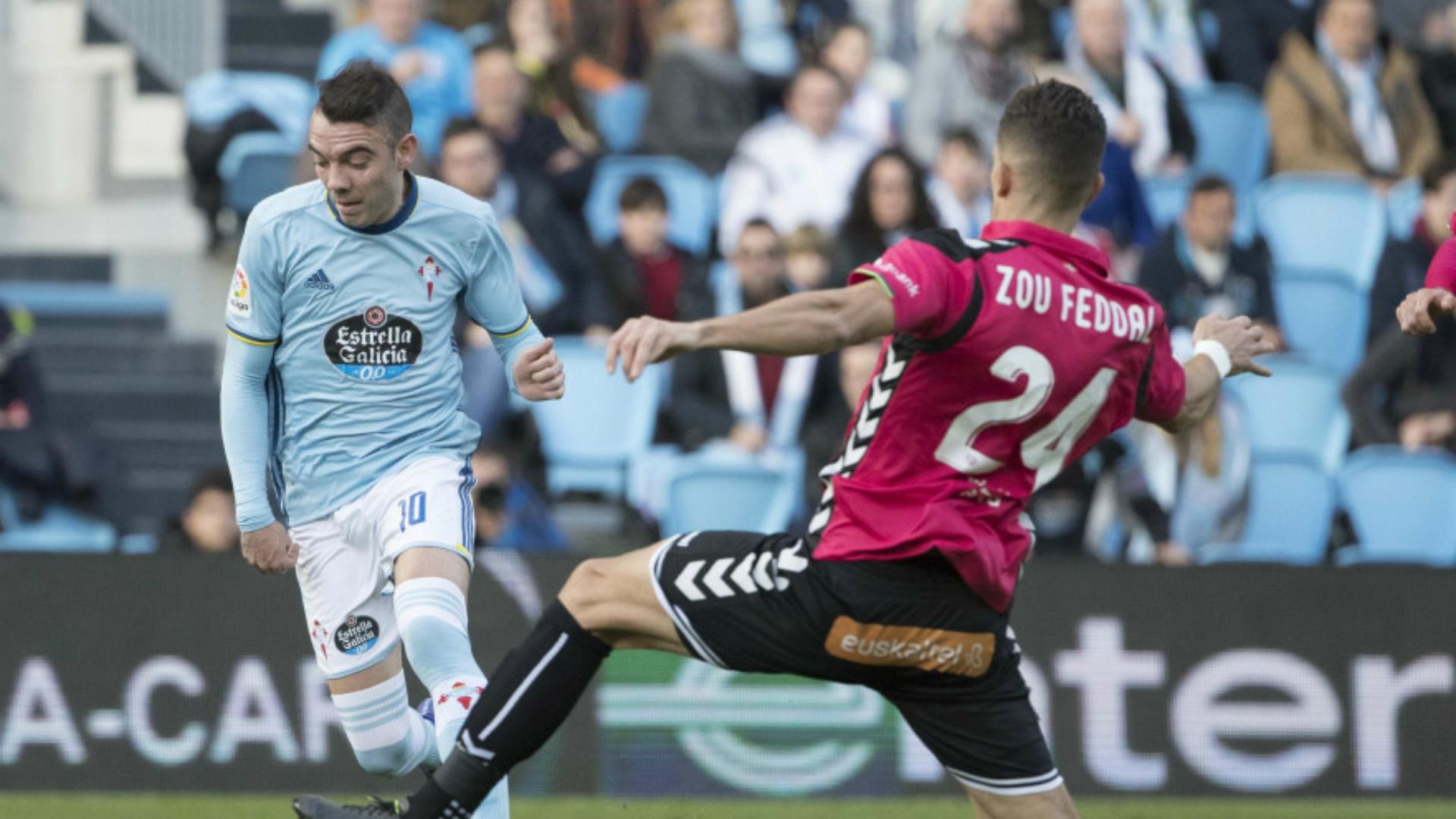 Iago Aspas Feddal Celta Alaves La Liga