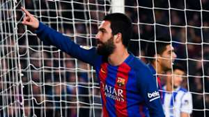 Arda Turan Barcelona Real Sociedad Copa del Rey 26012017