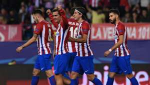 Griezmann Filipe Luis Carrasco Atletico Madrid Rostov UEFA Champions League 011116