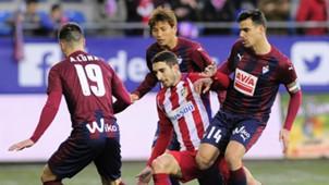 Dani Garcia Sime Vrsaljko Eibar Atletico Madrid La Liga