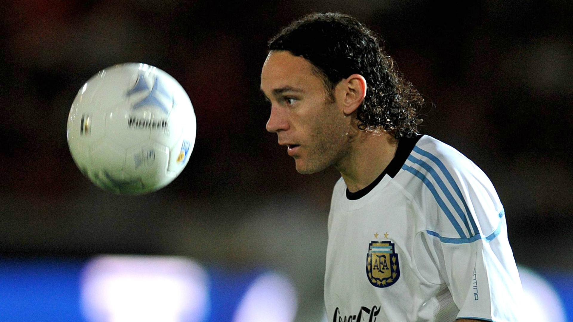 Gabriel Milito ex Argentinian player
