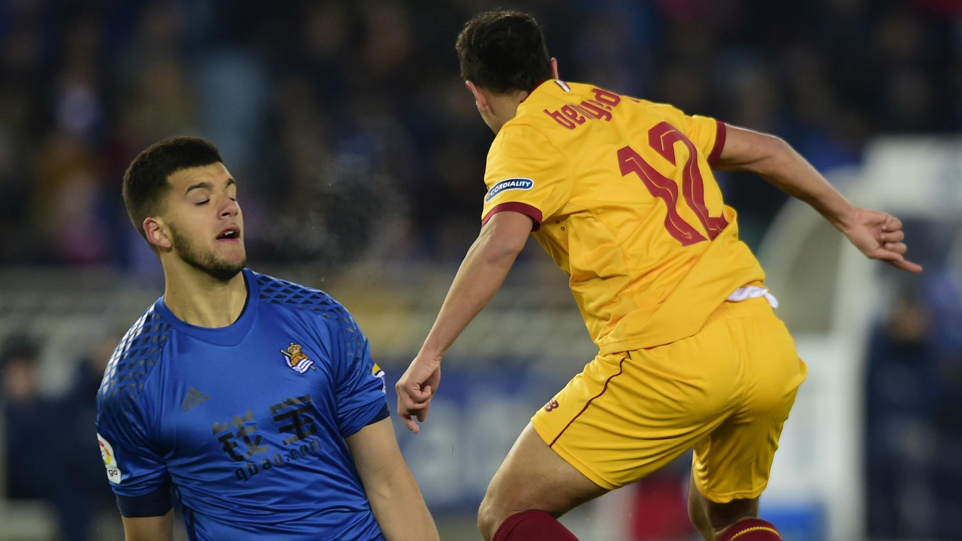Rulli Ben Yedder Real Sociedad Sevilla La Liga
