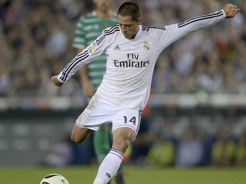 Chicharito Hernández se quiere ir de Real Madrid
