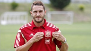 Koke Resurrección, Atletico and Spain NT, during the interview with Goal