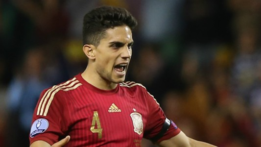 Marc Bartra Spain Luxembourg Euro Qualifier