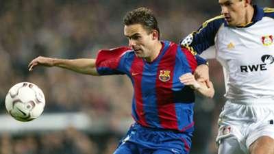 Overmars ex Barcelona player