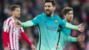 Lionel Messi Athletic Club Barcelona Copa del Rey