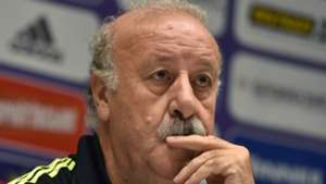Vicente del Bosque Spain Ukraine press conference