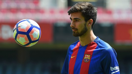 Andre Gomes Barcelona Unveiling 27072016