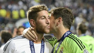 Sergio Ramos Iker Casillas Real Madrid Atletico de Madrid Champions League 05242015