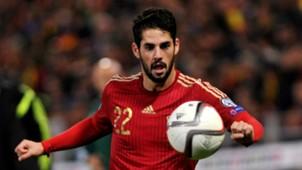 isco Alarcon Spain Belarus Euro 2016 Qualifying 15112014