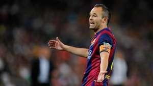 Andres Iniesta FC Barcelona La Liga