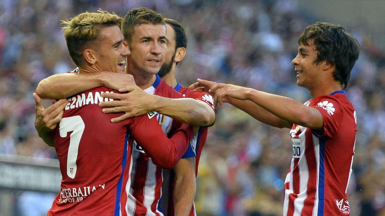 Griezmann Gabi Oliver Atletico Madrid Las Palmas La Liga 22082015