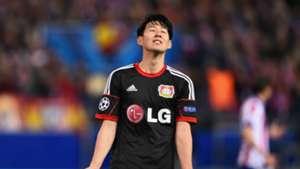 Son Heung-Min Atletico de Madrid Bayer Leverkusen Champions League 03172015