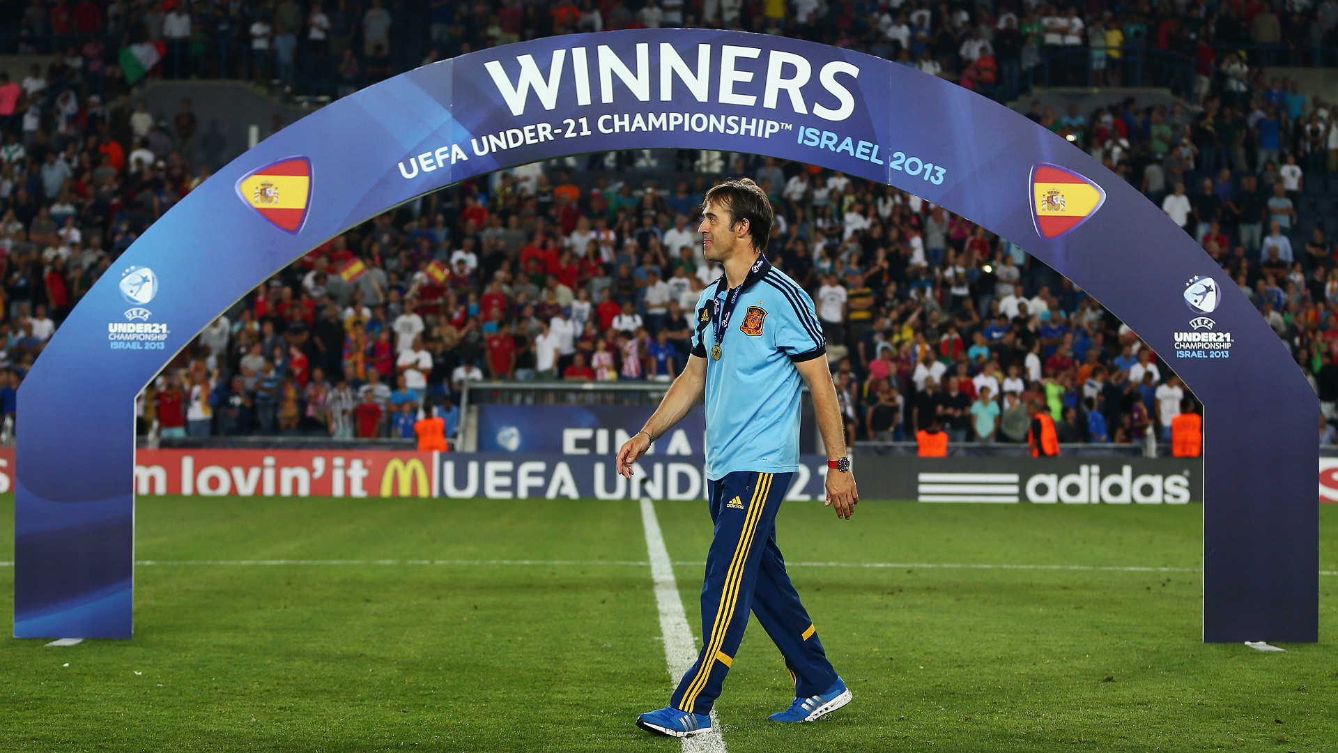 Julen Lopetegui Spain U21 2013