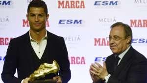 Cristiano Ronaldo Florentino Perez Bota de Oro