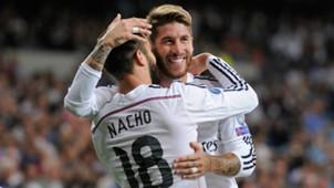 Nacho Fernandez Sergio Ramos Real Madrid Basel UEFA Champions League