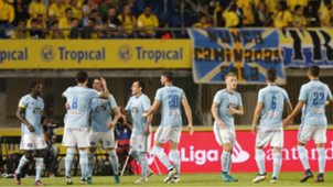 Celta celebrates Las Palmas Celta La Liga