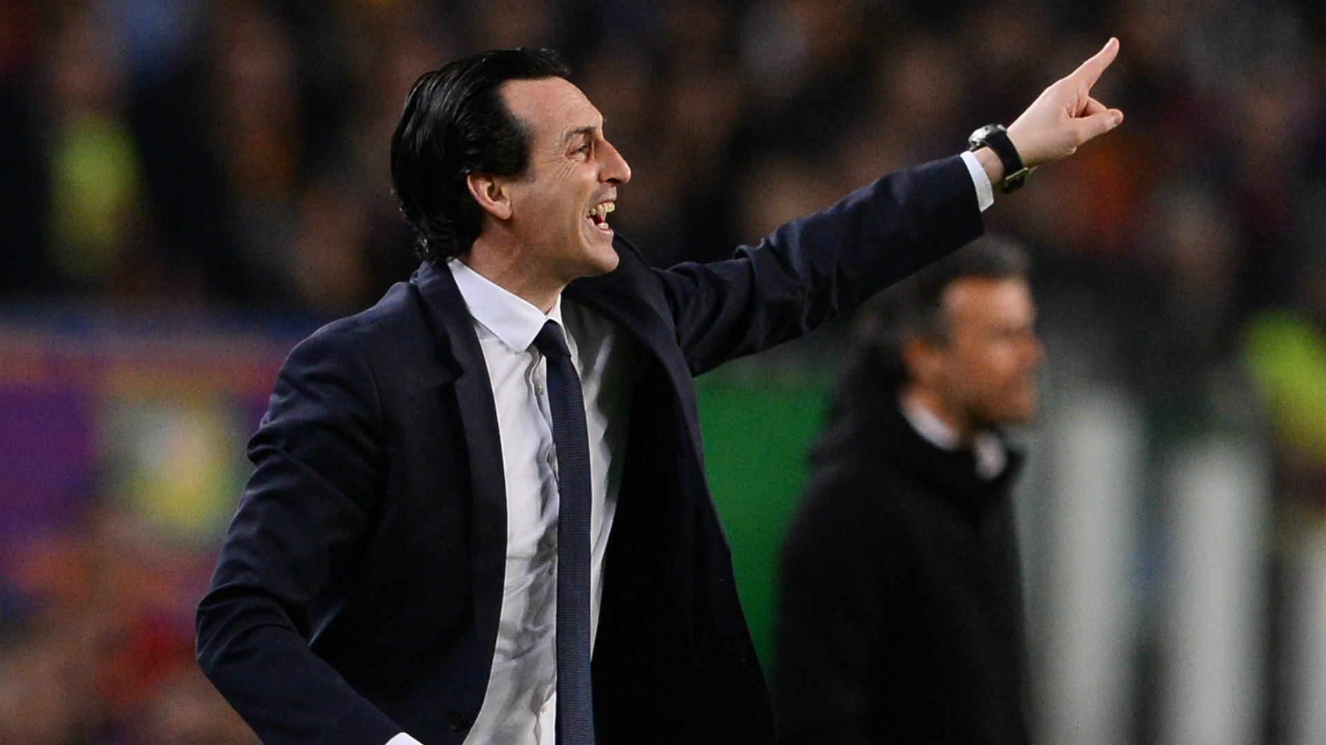 Unai Emery Barcelona PSG UEFA Champions League 08032016