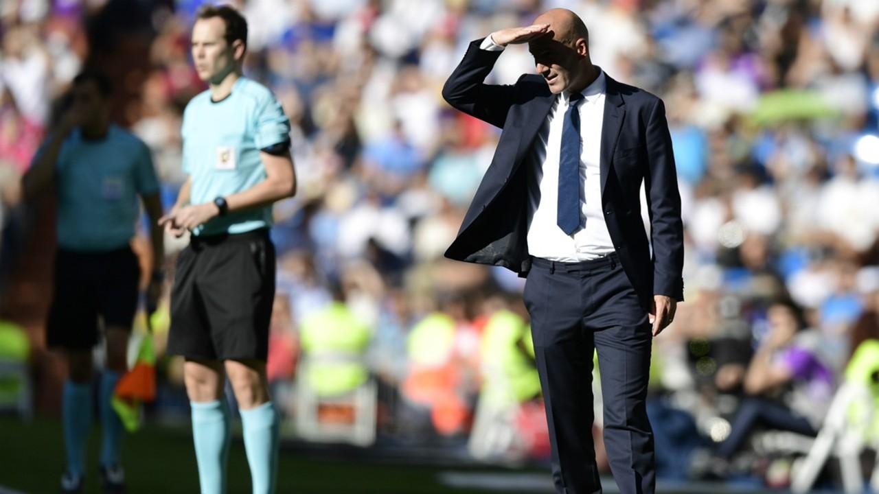 Zinedine Zidane Real Madrid Eibar 02102016