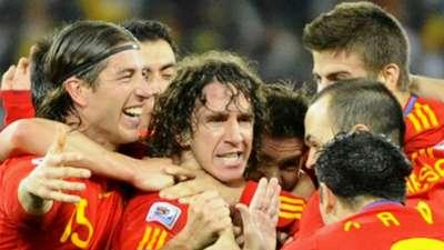 Carles Puyol Spain Germany WC 2010