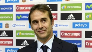 Julen Lopetegui Spain press conference
