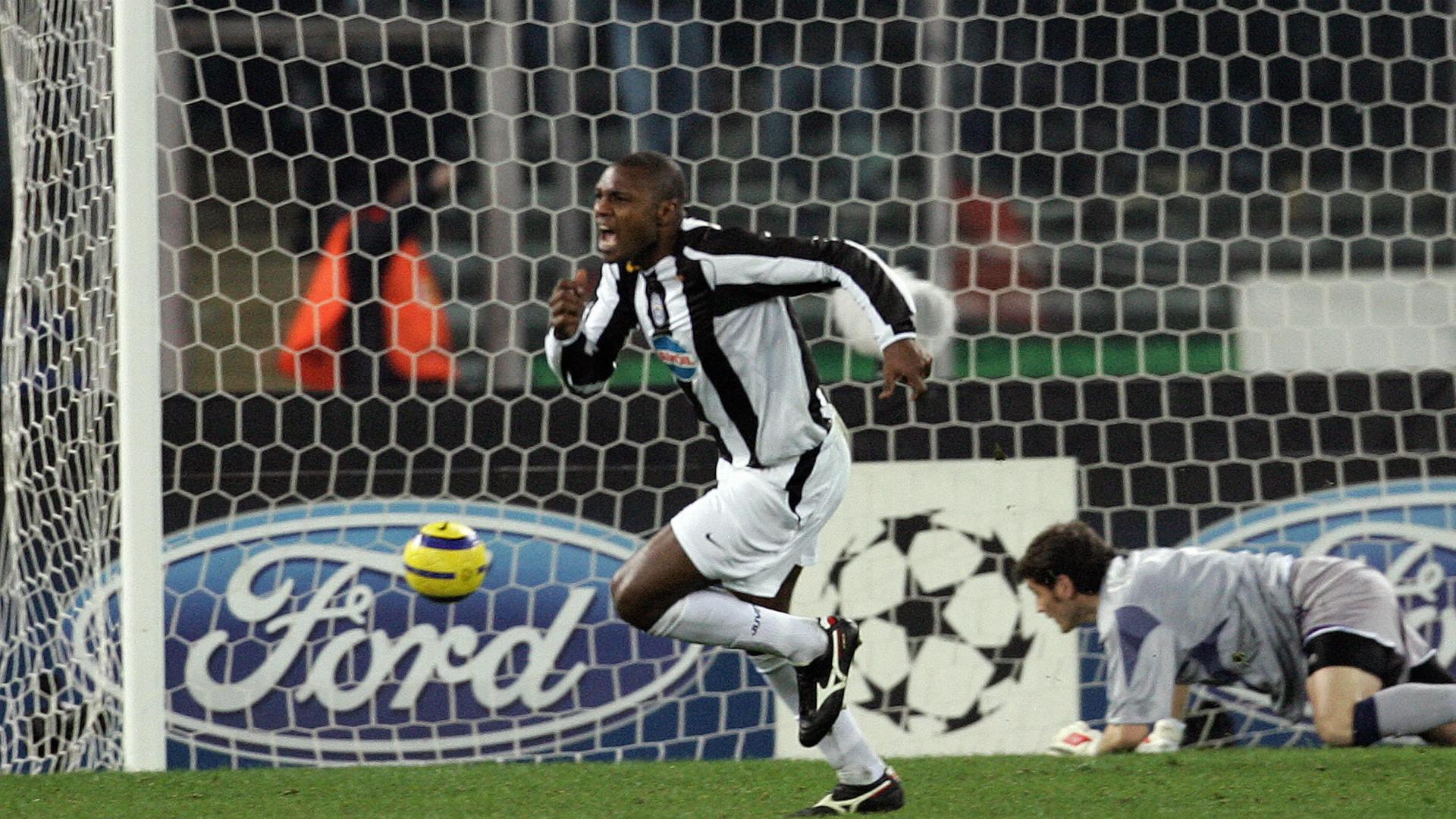 Marcelo Zalayeta Juventus Real Madrid Champions League 2005