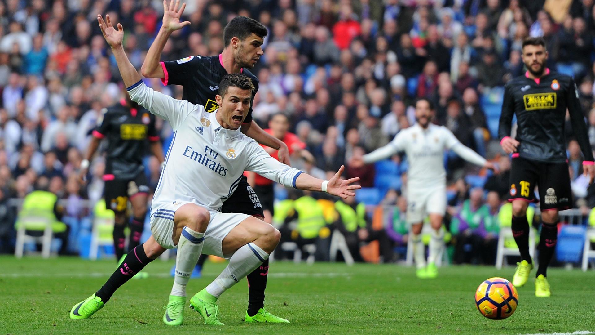 Cristiano Ronaldo Real Madrid Espanyol LaLiga