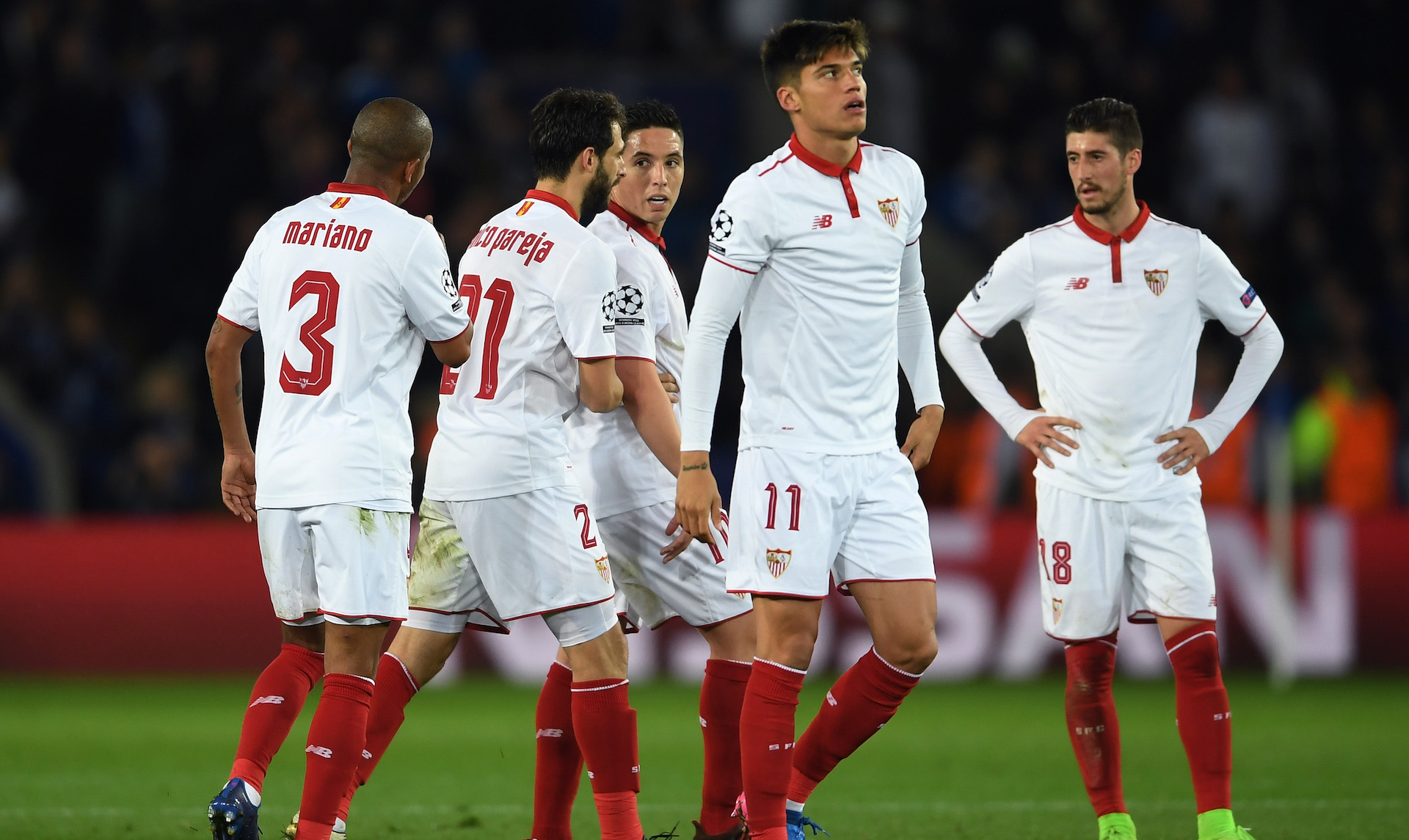 Sevilla FC Leicester City Champions League