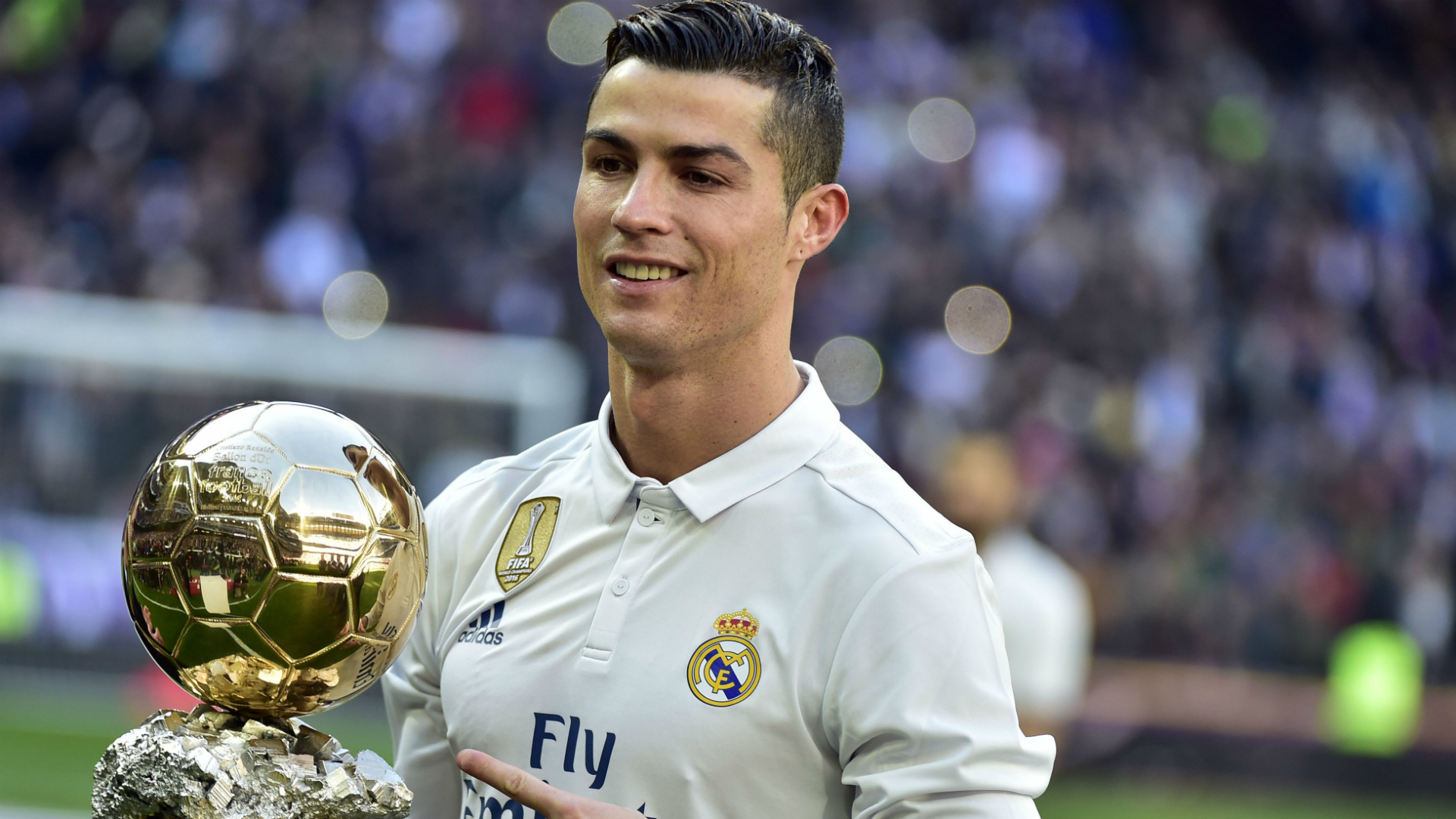 Cristiano Ronaldo Real Madrid Granada La Liga Ballon d'Or