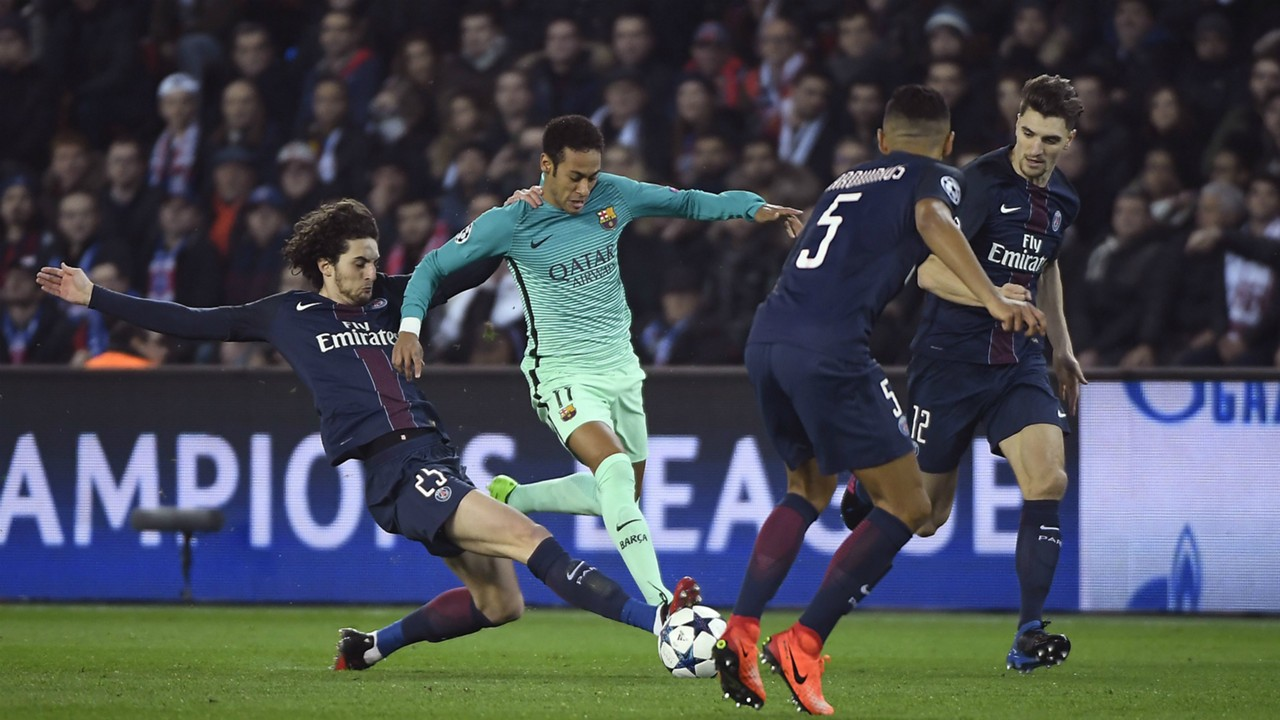 Neymar PSG Barcelona Champions League