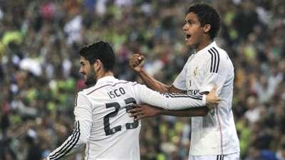 Isco Raphael Varane Cornella Real Madrid Copa del Rey