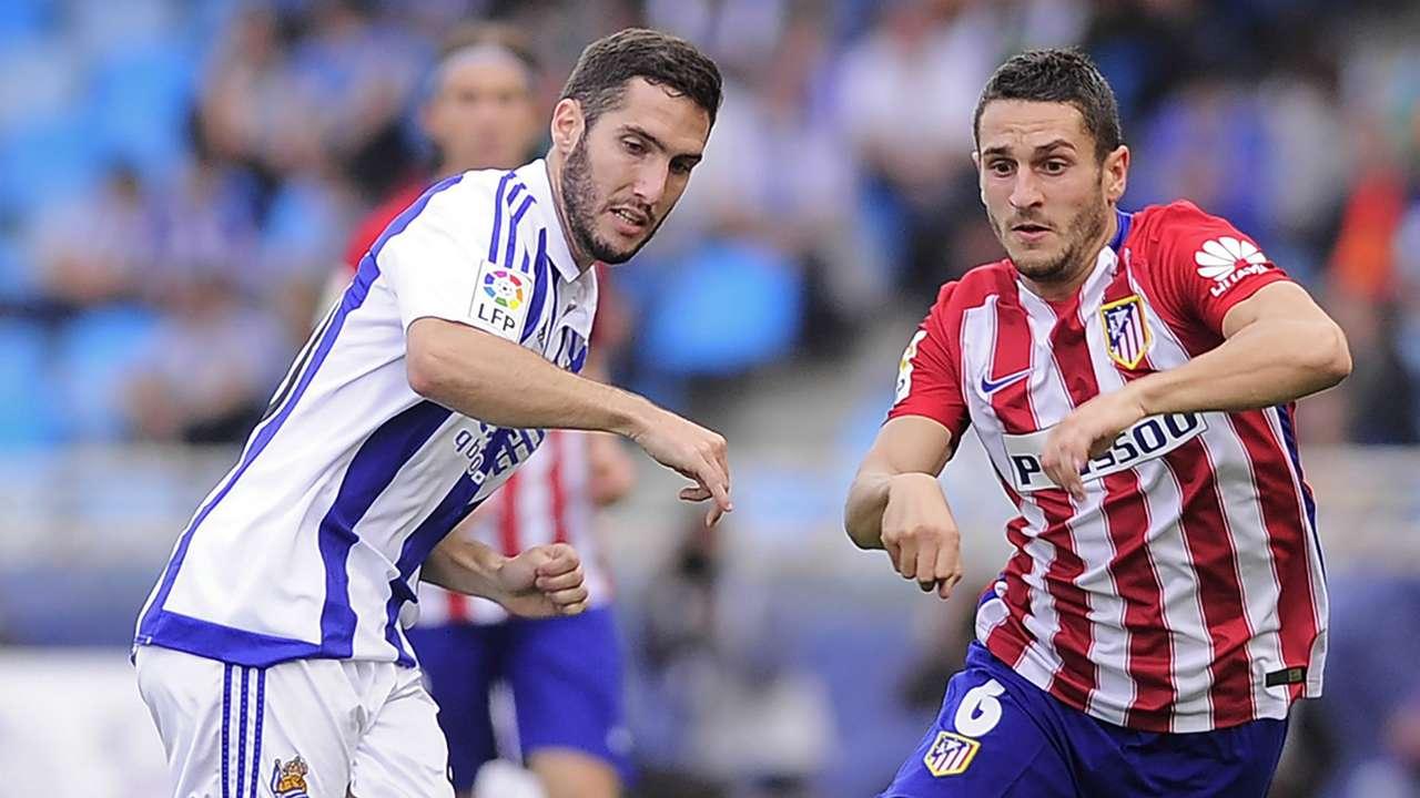 Joseba Zaldua Koke Real Sociedad Atletico Madrid La Liga 18102015