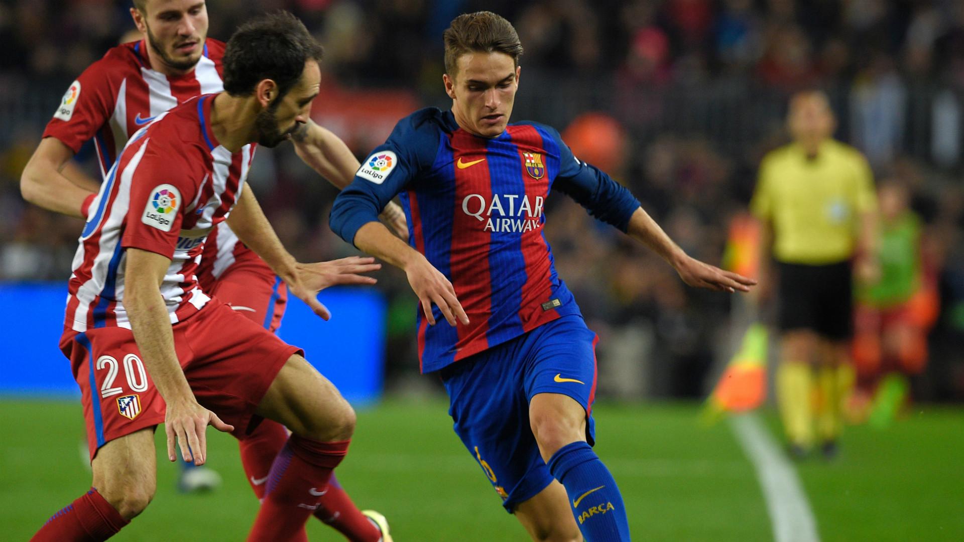 Juanfran Denis Suarez Barcelona Atletico Madrid Copa del Rey