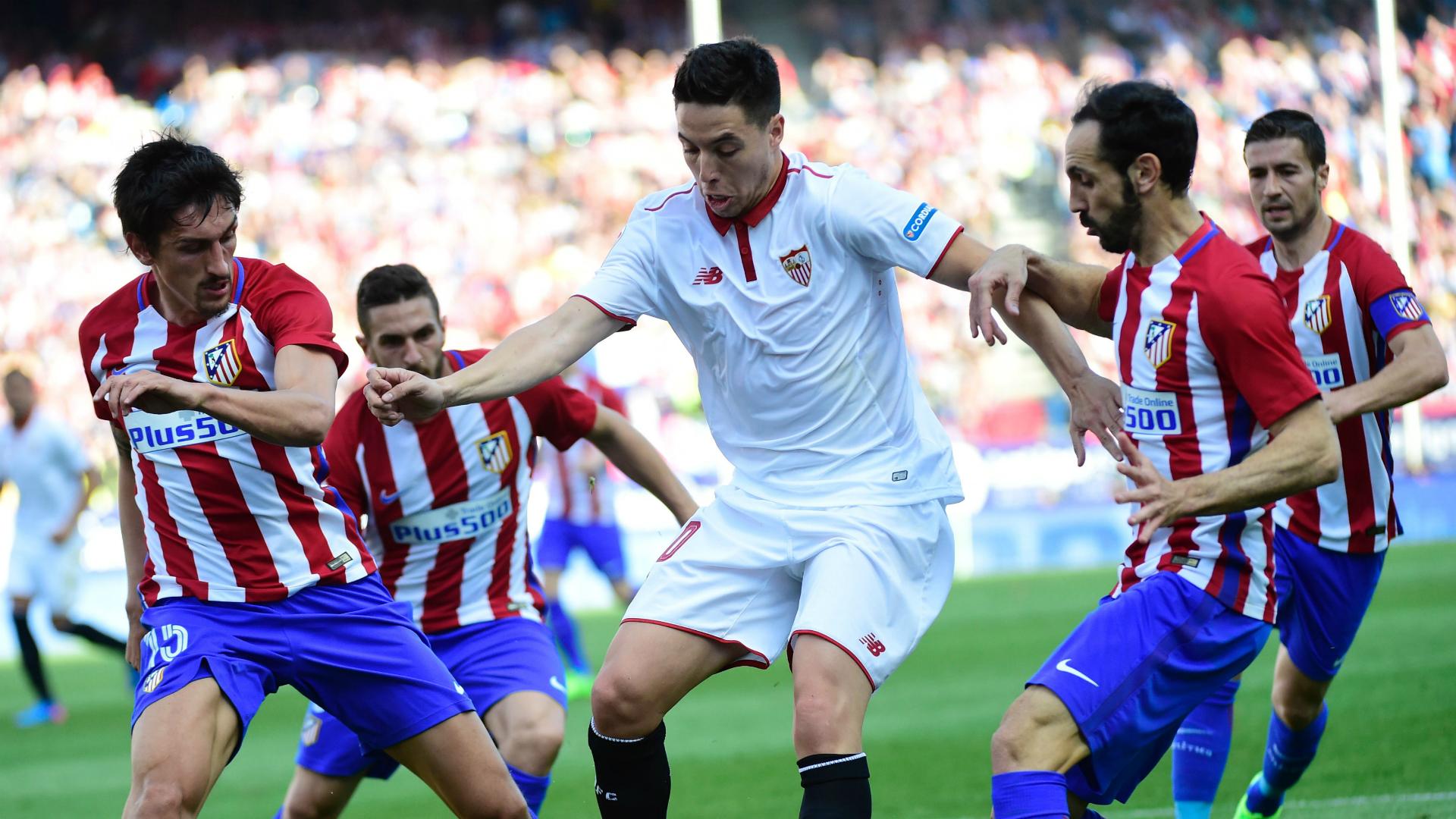 Samir Nasri Atletico Madrid Sevilla La Liga